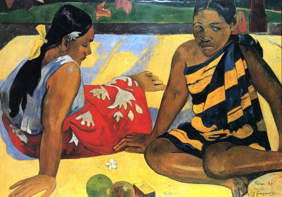 Two Women From Tahiti - Gauguin