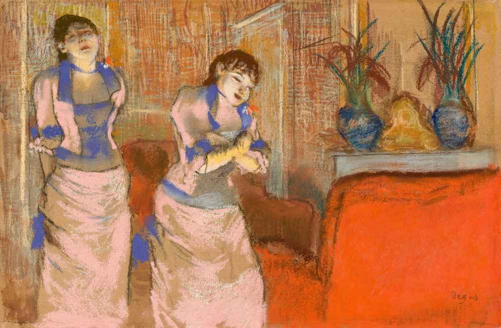 Two Women - Edgar Degas