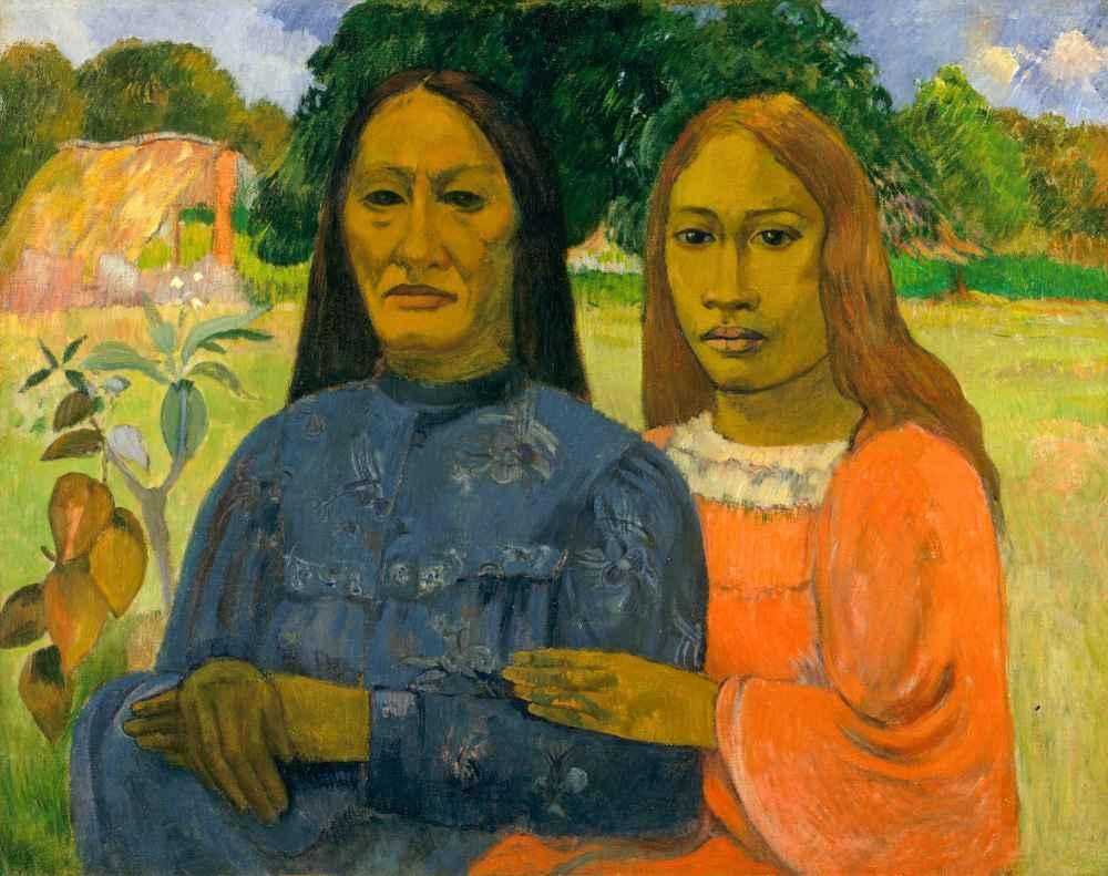 Two Women - Paul Gauguin