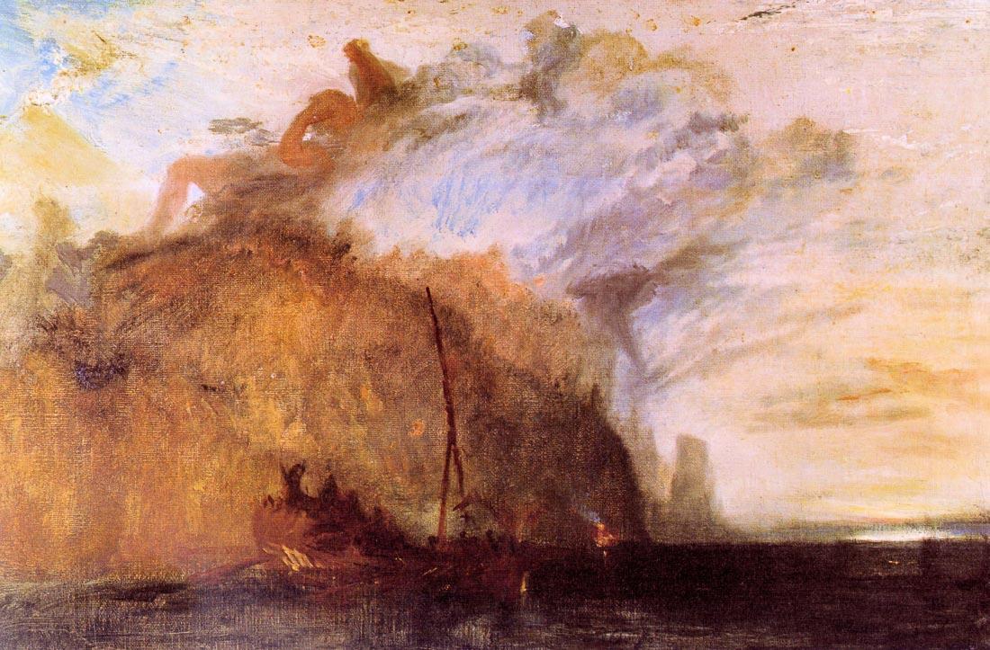 Ulysses scolding Polyphemus - Joseph Mallord Turner