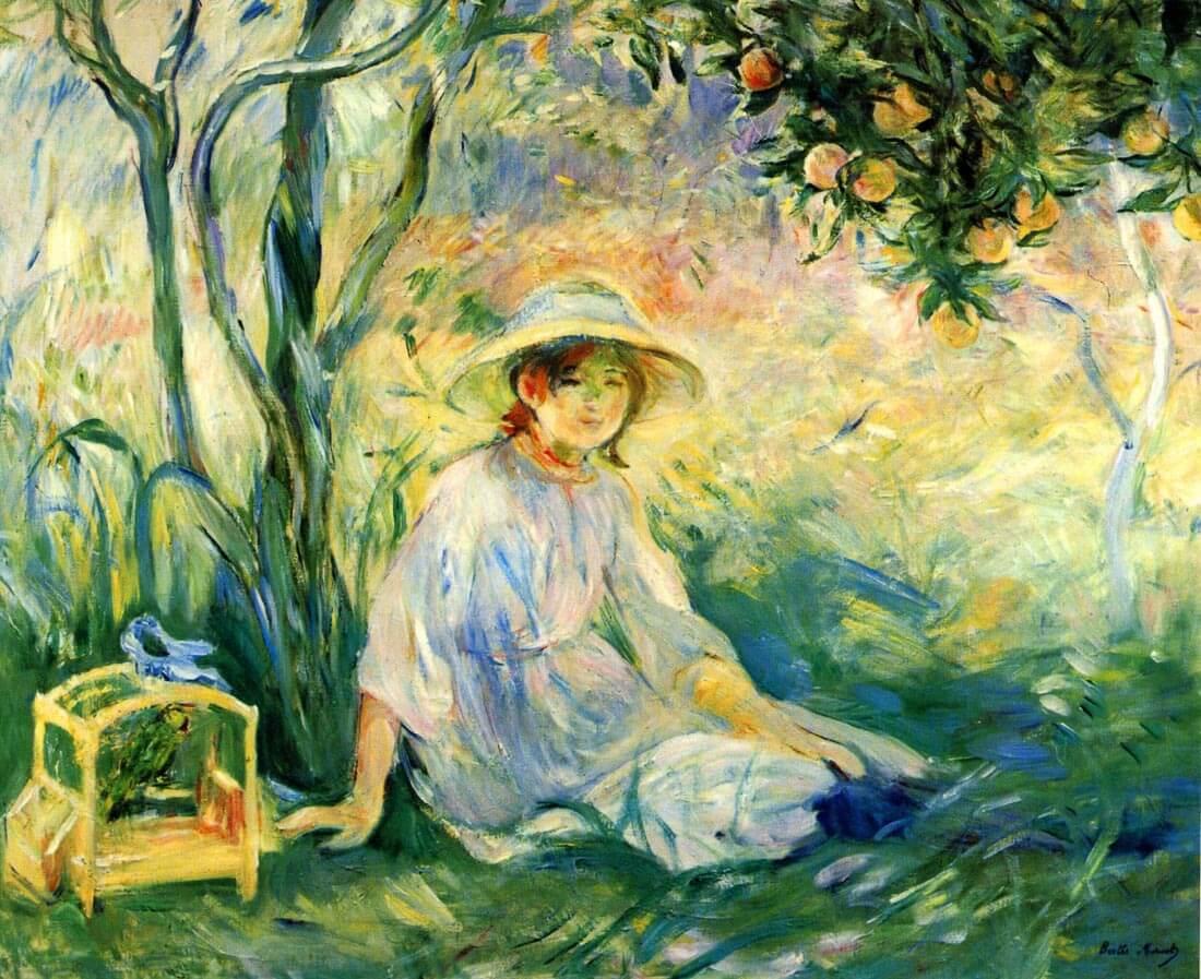 Under the Orangetree - Morisot