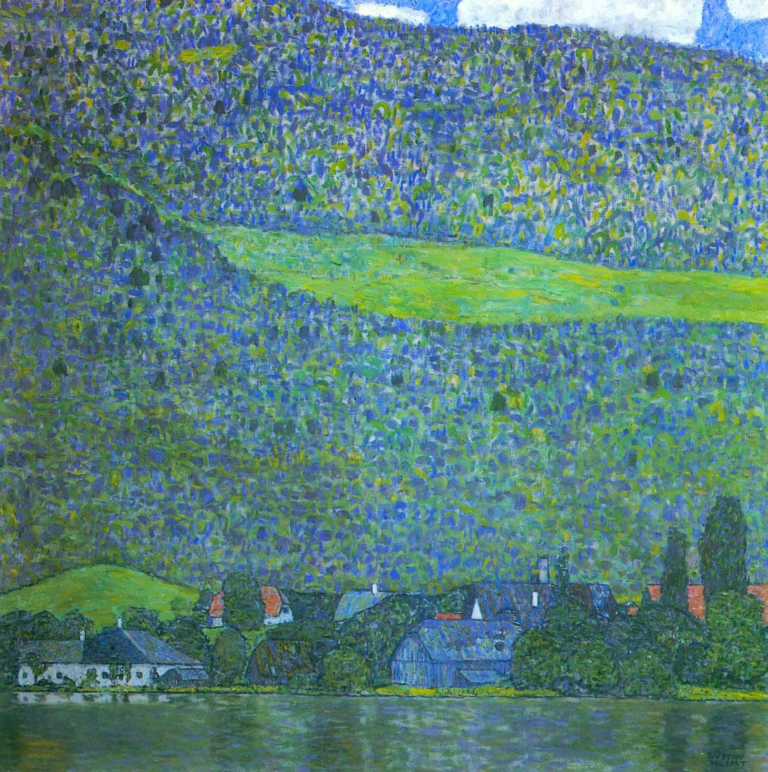 Unterach at the Attersee - Klimt