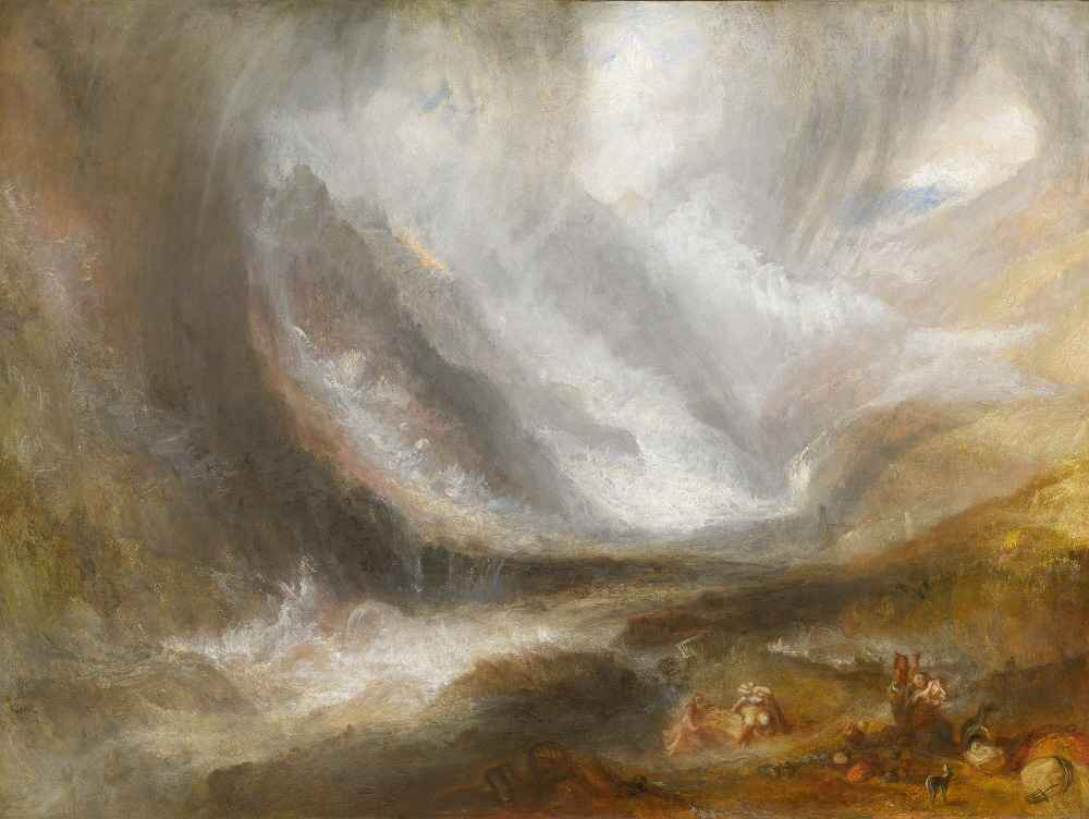 Valley of Aosta - Snowstorm, Avalanche, and Thunderstorm - Joseph Mall