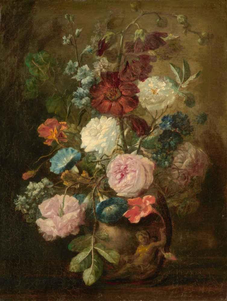 Vase of Flowers 2 - Jan van Huysum