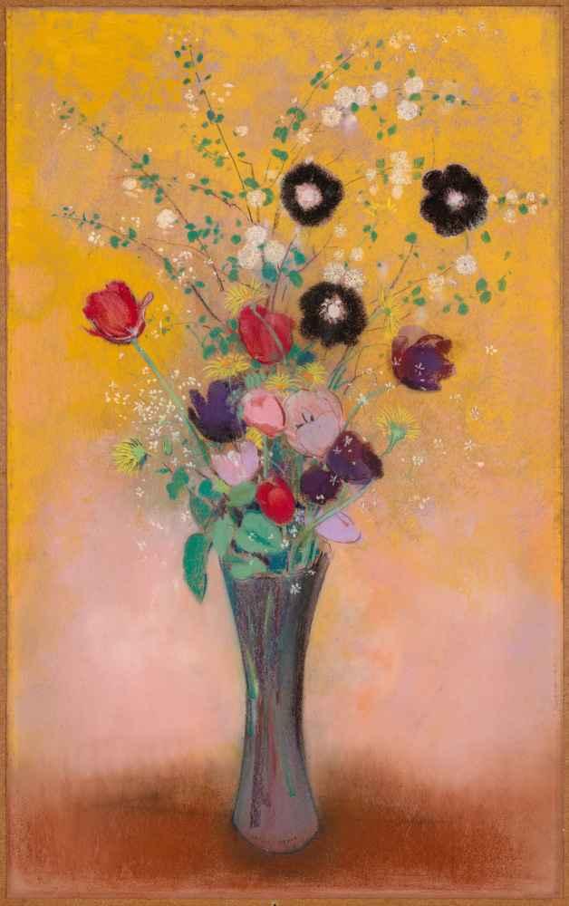 Vase of Flowers 2 - Odilon Redon