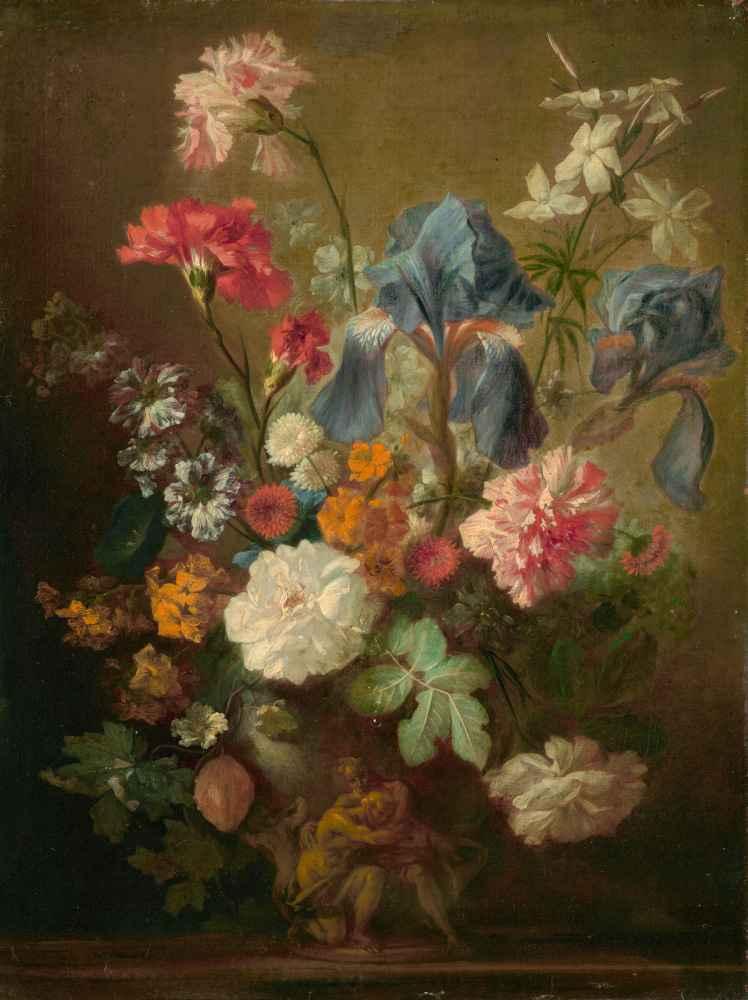 Vase of Flowers - Jan van Huysum