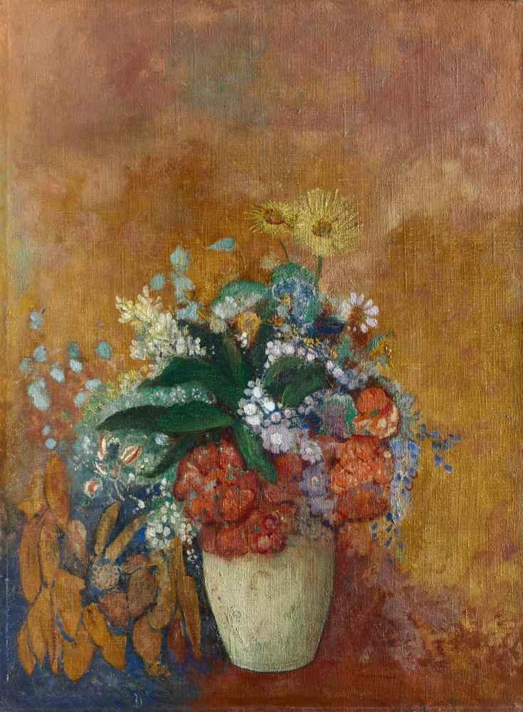 Vase of Flowers - Odilon Redon