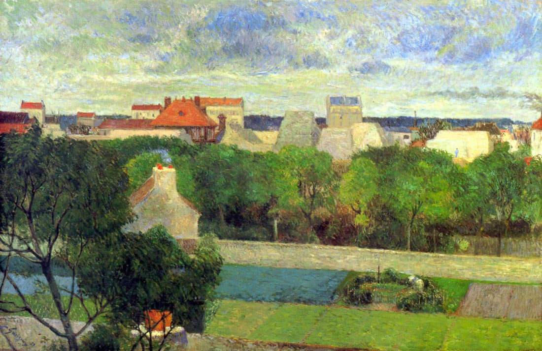 Vegetable Famers in Vauguirard - Gauguin