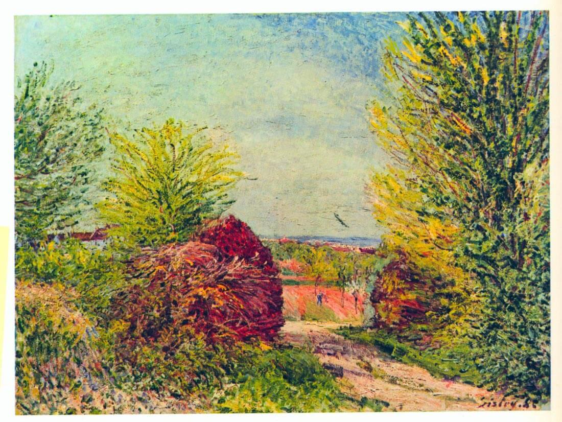 Veneux-Nadon in the spring - Sisley
