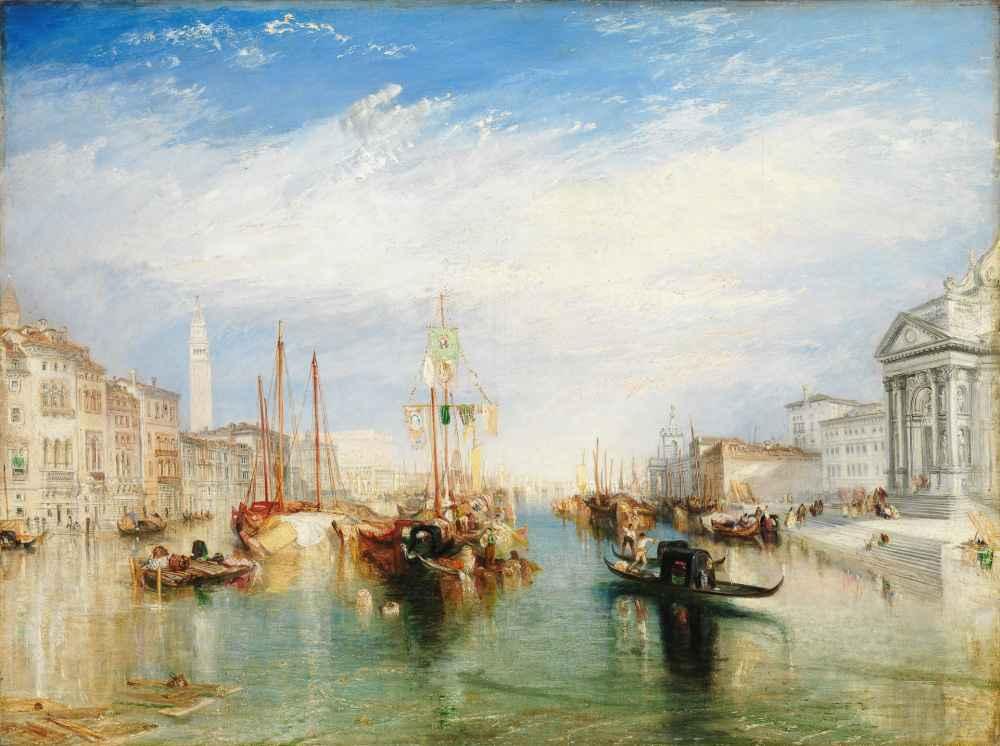 Venice, from the Porch of Madonna della Salute - Joseph Mallord Willia