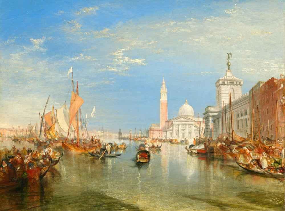 Venice - The Dogana and San Giorgio Maggiore - Joseph Mallord William