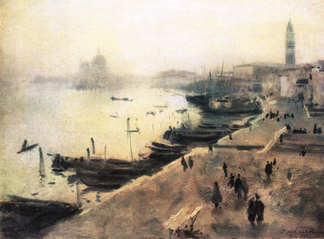 Venice in bad weather - John Singer Sargent