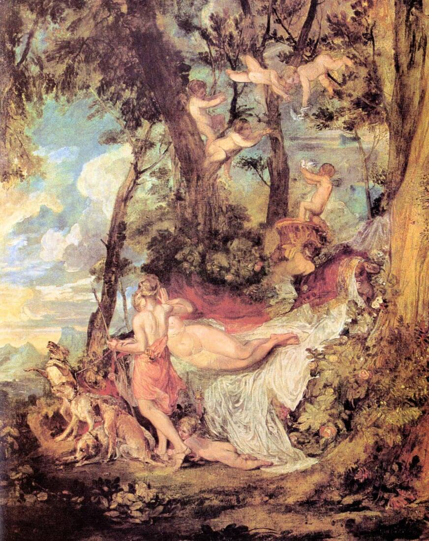Venus and Adonis - Joseph Mallord Turner