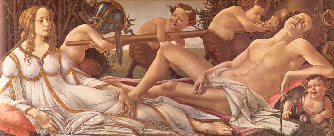 Venus and Mars - Botticelli