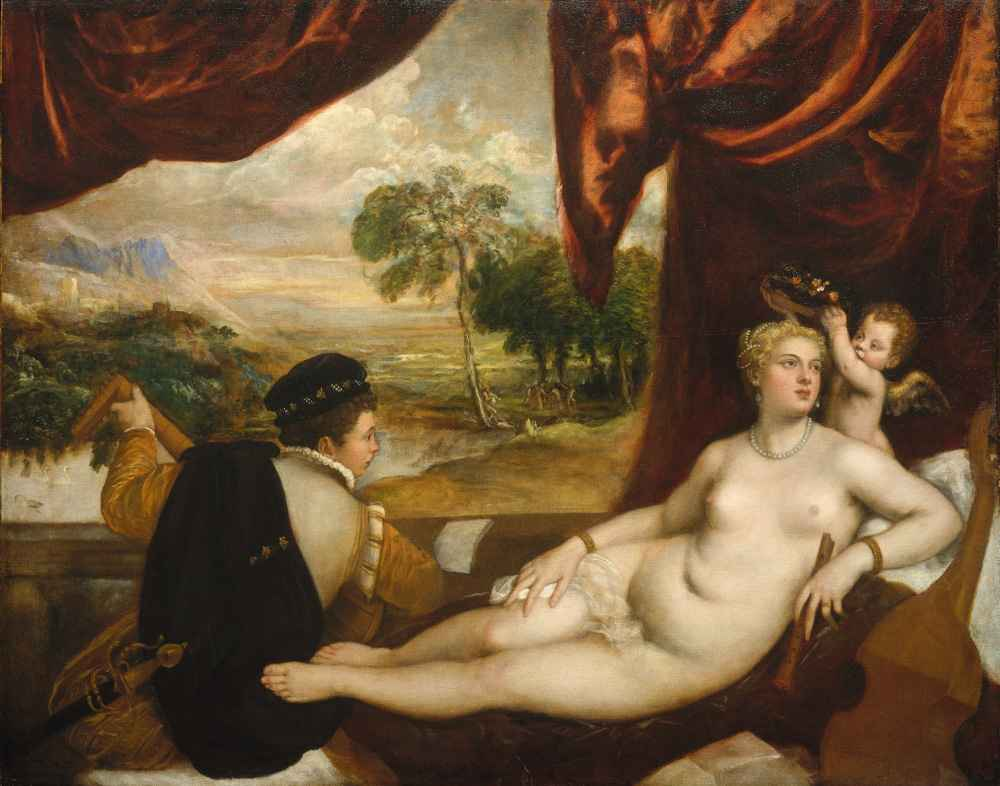 Venus and the Lute Player - Tycjan