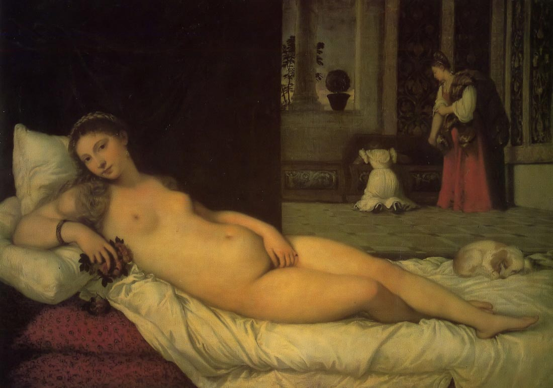 Venus of Orbino - Titian