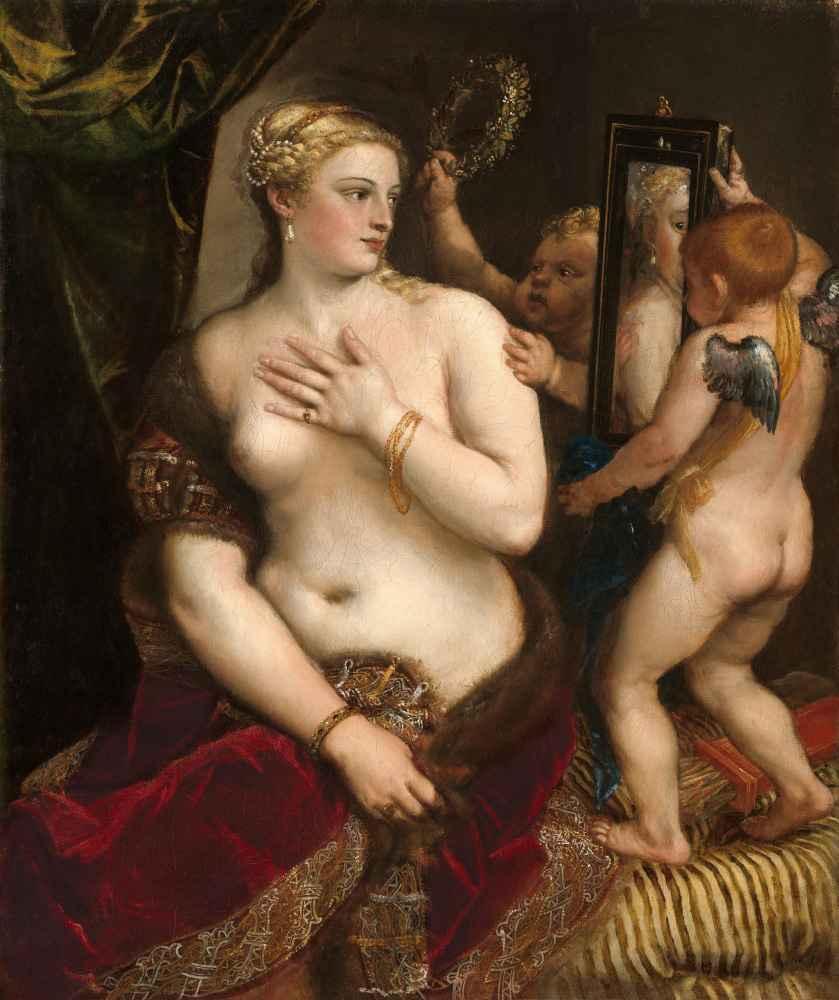 Venus with a Mirror - Tycjan