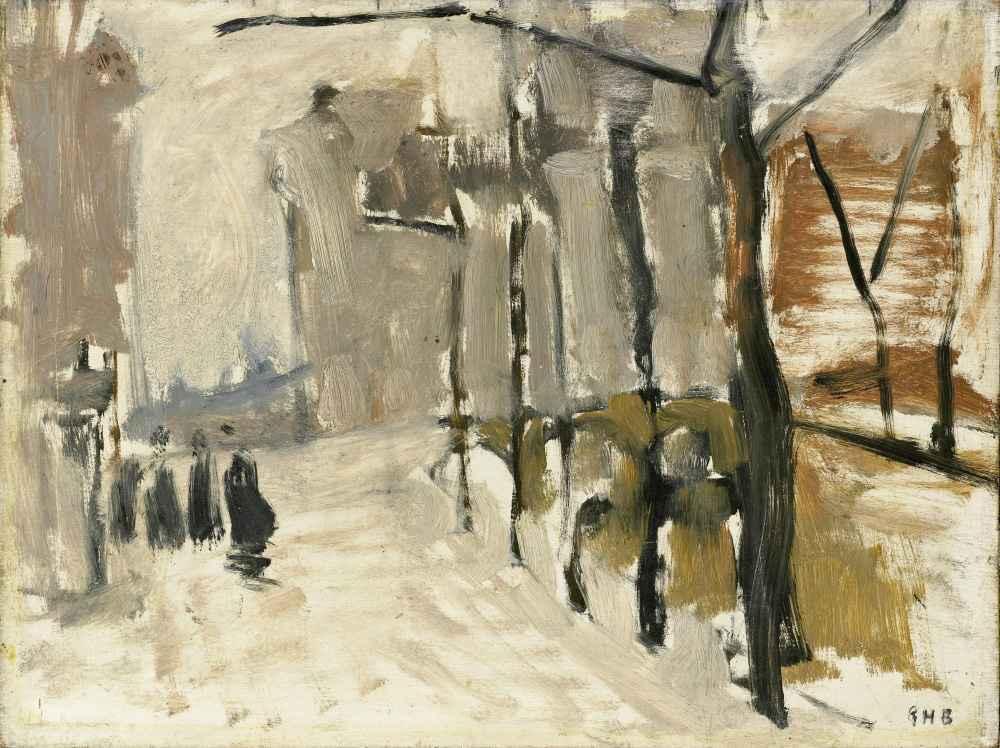 View in the Hague - George Hendrik Breitner