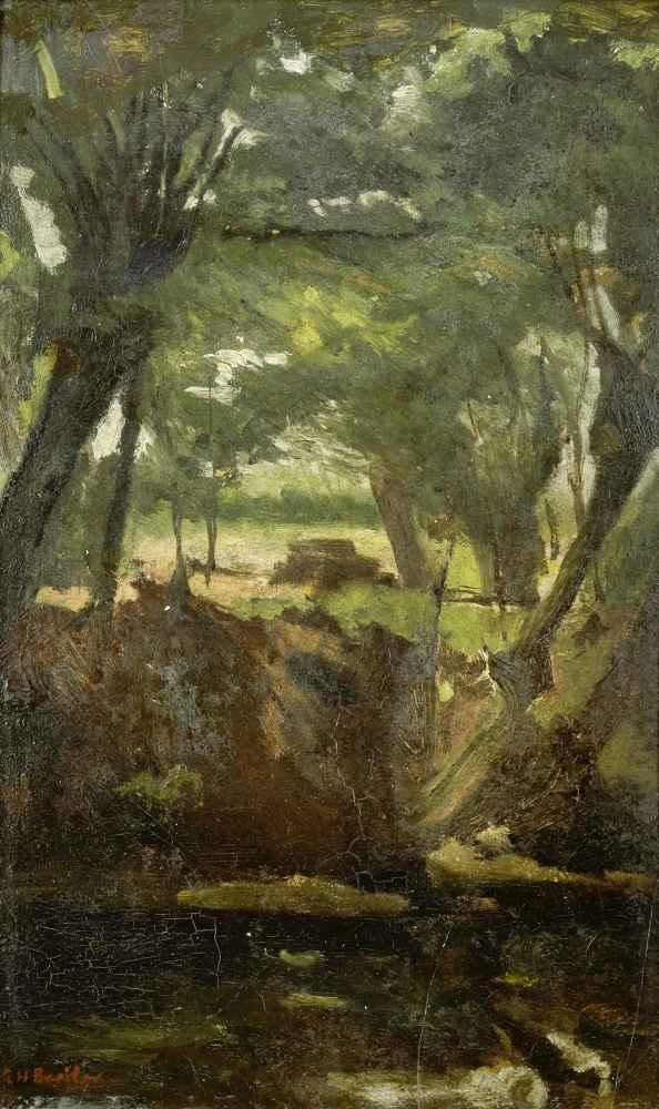 View in the Woods - George Hendrik Breitner