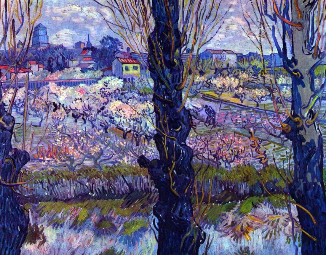 View of Arles - Van Gogh