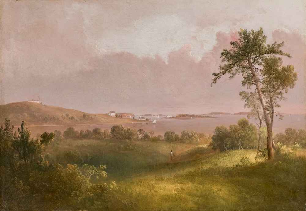 View of Boston Harbor from Dorchester Heights - Thomas Doughty
