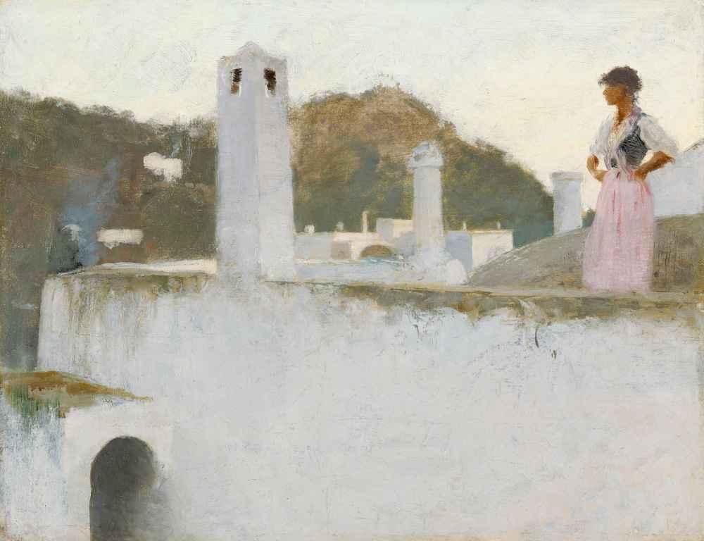 View of Capri - John Singer Sargent