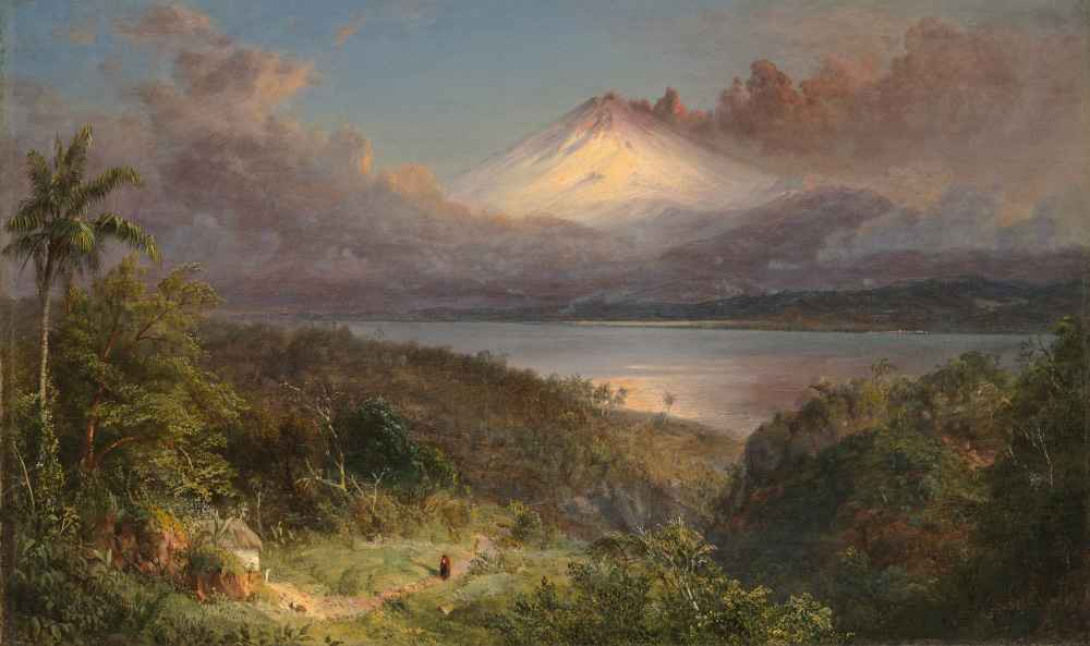 View of Cotopaxi - Frederic Edwin Church