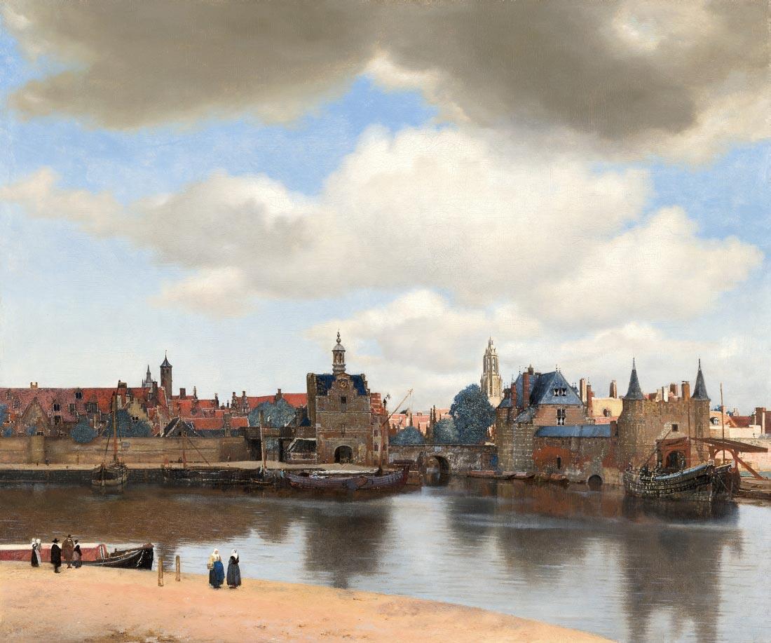 View of Delft - Vermeer