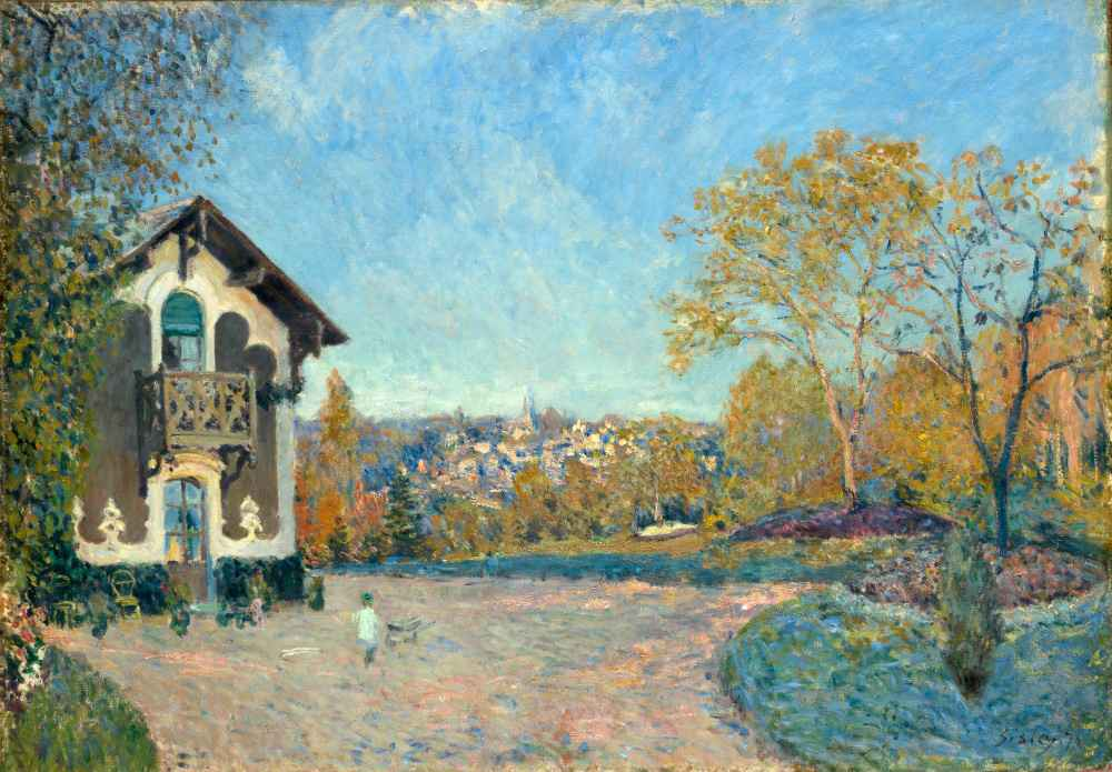 View of Marly-le-Roi from Coeur-Volant - Alfred Sisley