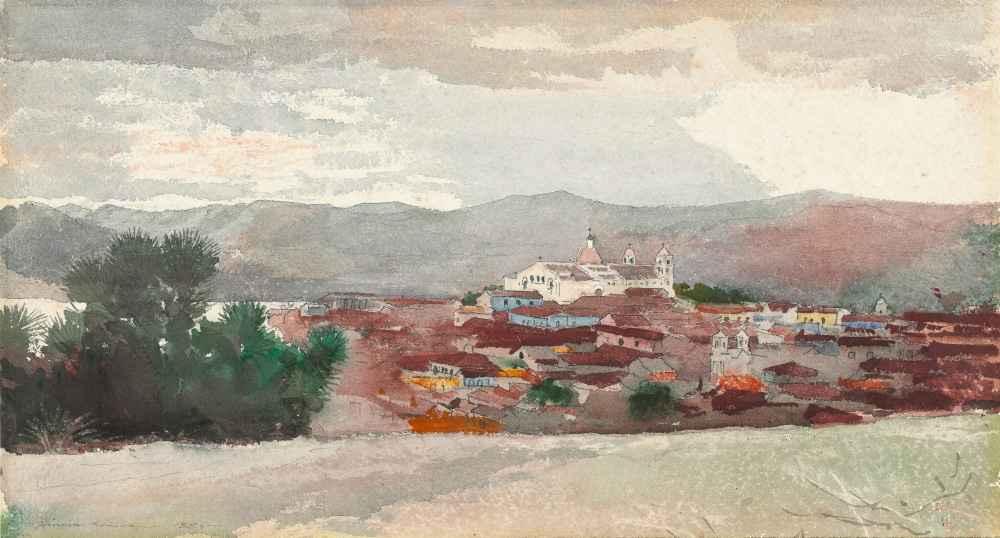 View of Santiago de Cuba - Winslow Homer