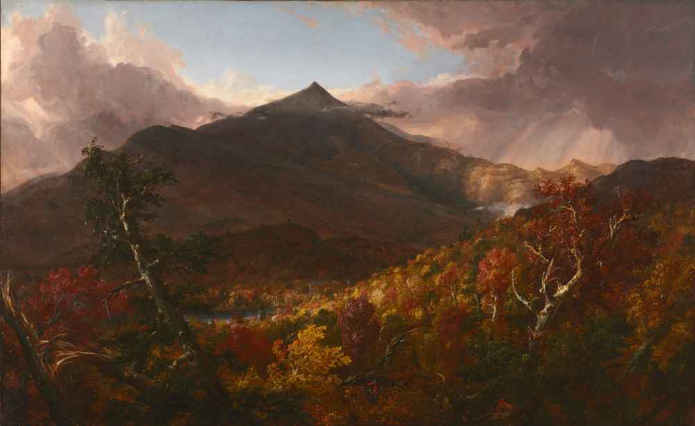 View of Schroon Mountain, Essex County, New York, After a Storm - Thom