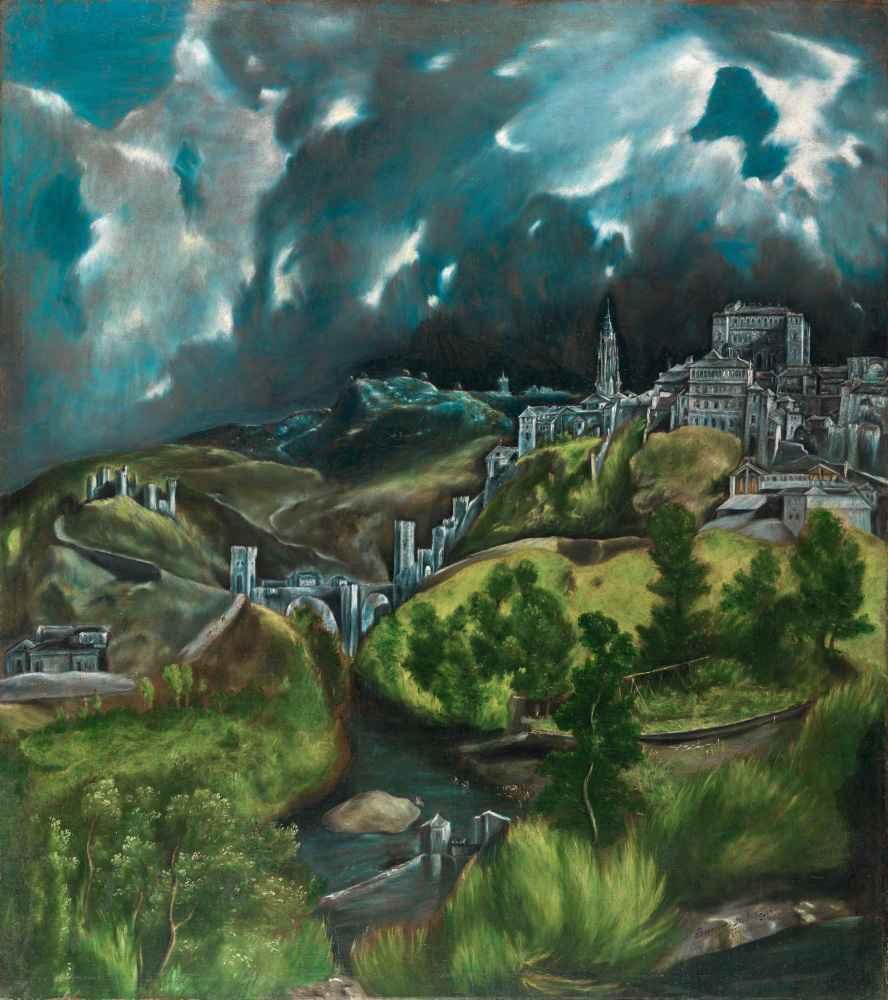 View of Toledo - El Greco