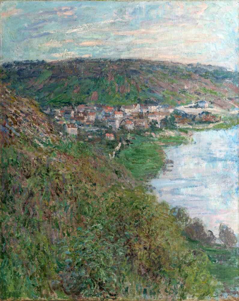 View of Vétheuil - Claude Monet
