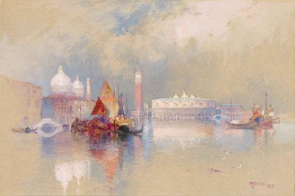 View of Venice 2 - Thomas Moran