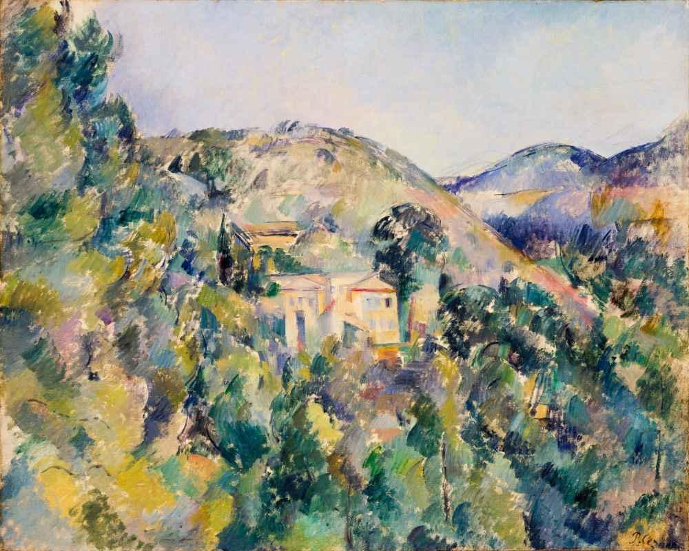 View of the Domaine Saint-Joseph - Paul Cezanne