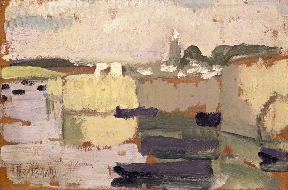 Village at the Waters Edge - Roger de La Fresnaye