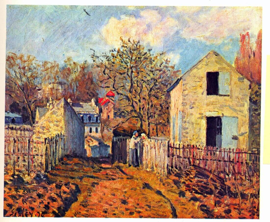 Village of Voisins (now part of Louveciennes) - Sisley