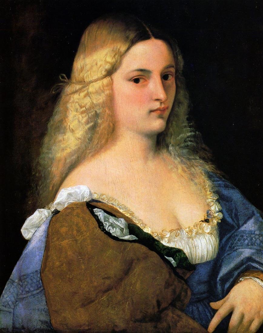 Violante 1518 - Titian