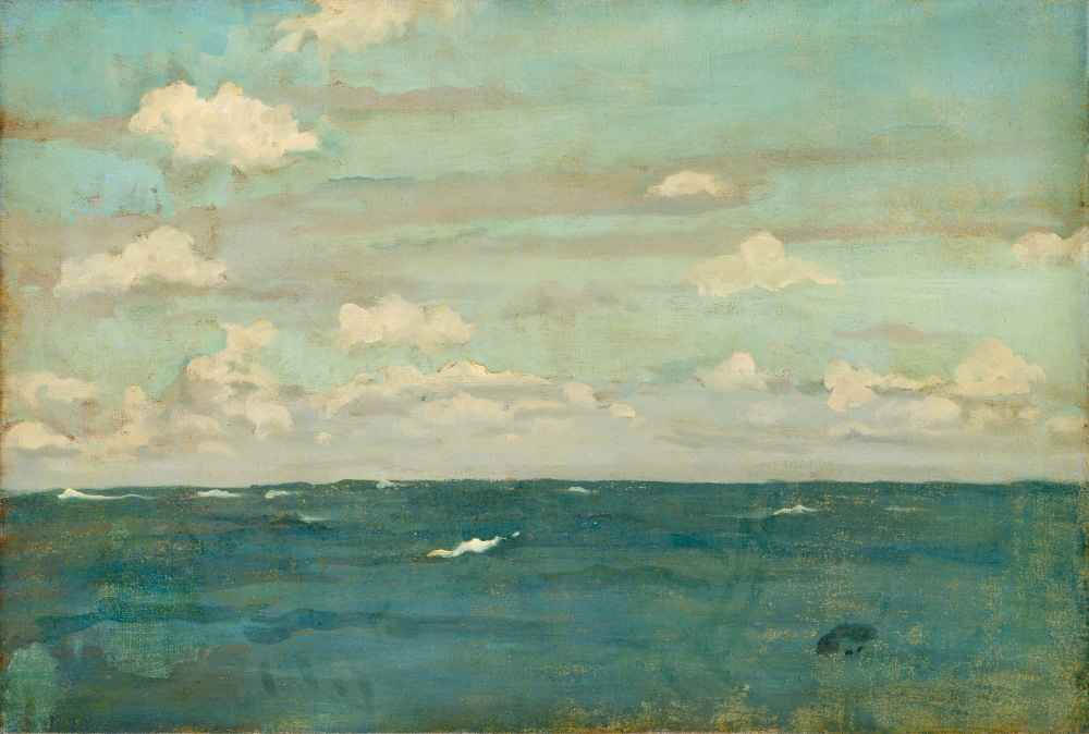 Violet and Silver - The Deep Sea - James Abbott McNeill Whistler