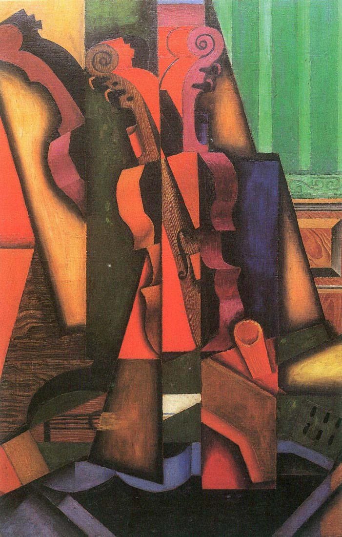 Violin and guitar - Juan Gris