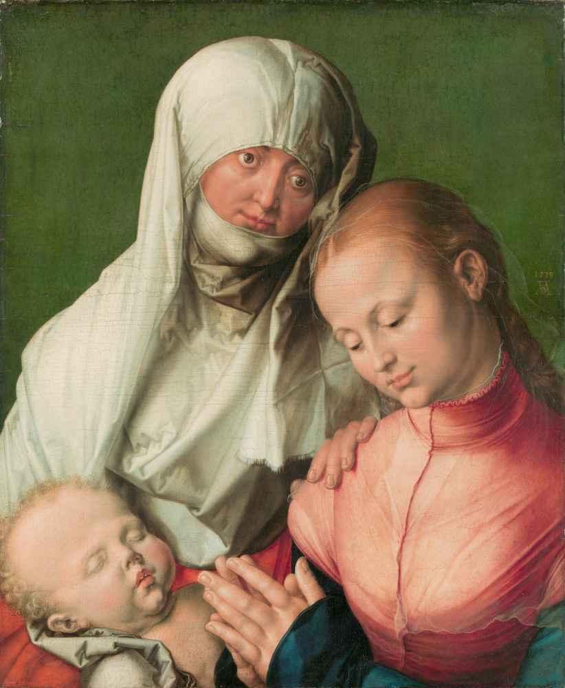 Virgin and Child with Saint Anne - Albrecht Durer