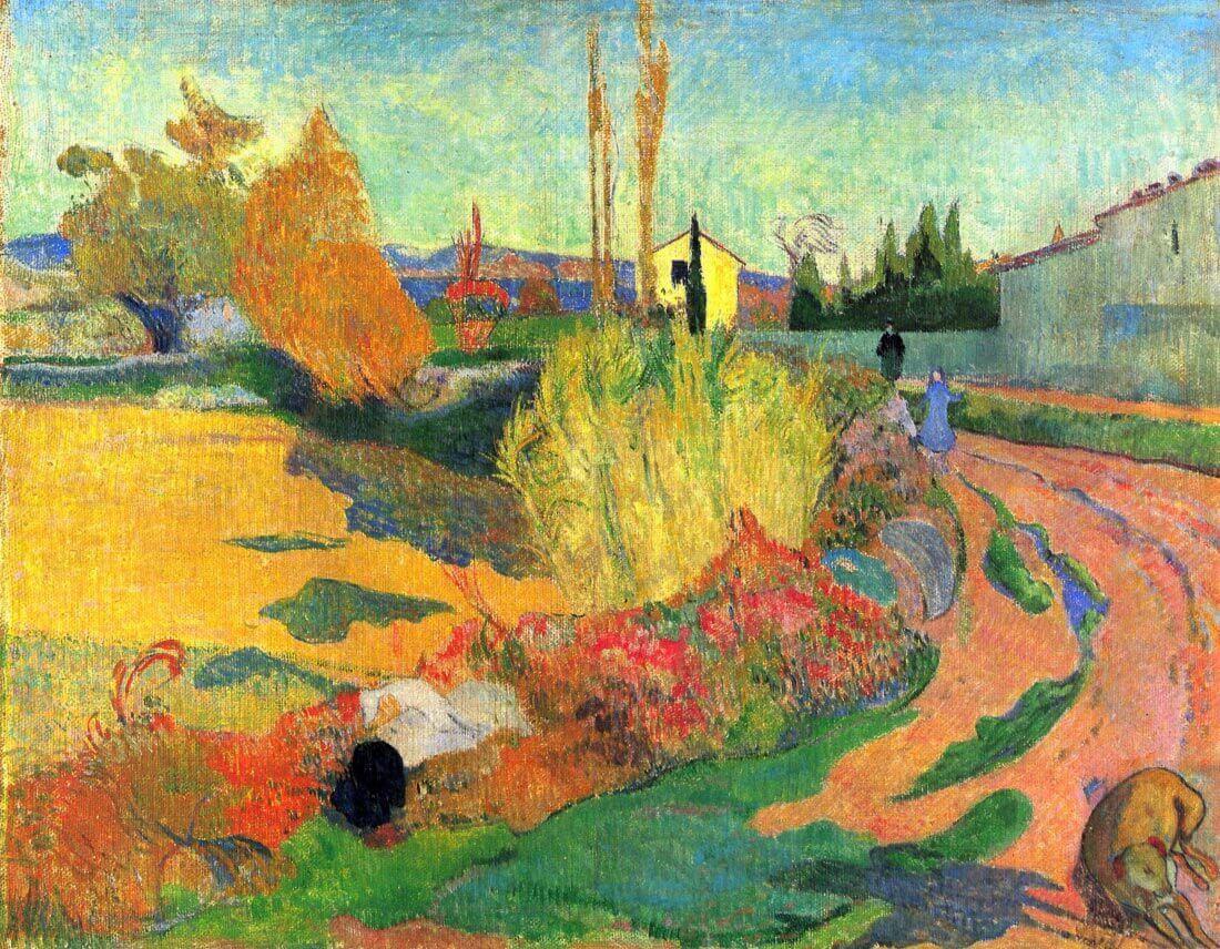 Von Arles - Gauguin