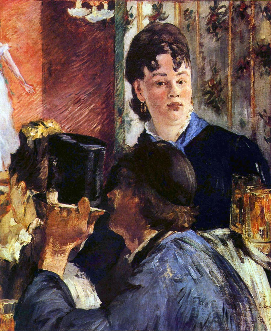 Waitress - Manet