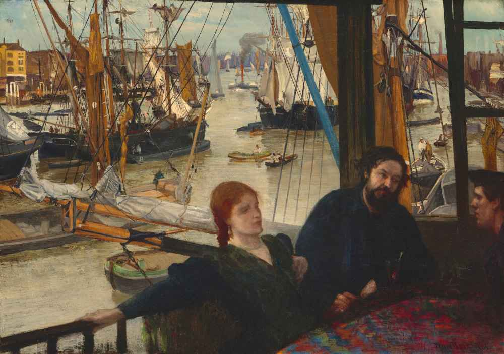 Wapping - James Abbott McNeill Whistler
