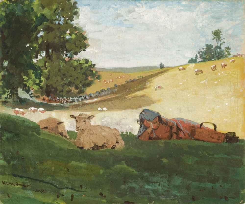 Warm Afternoon - Winslow Homer