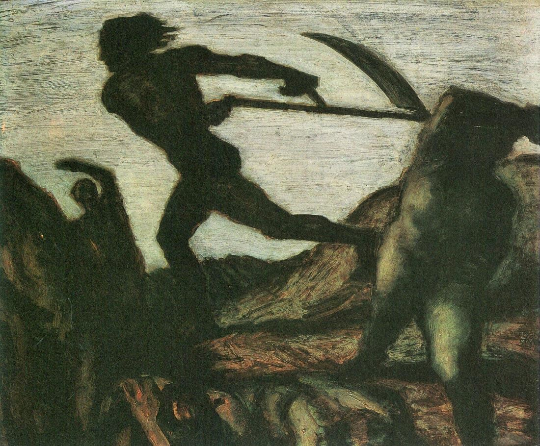 Warrior - Franz von Stuck