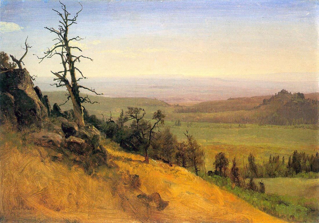 Wasatch Mountains Nebraska - Bierstadt