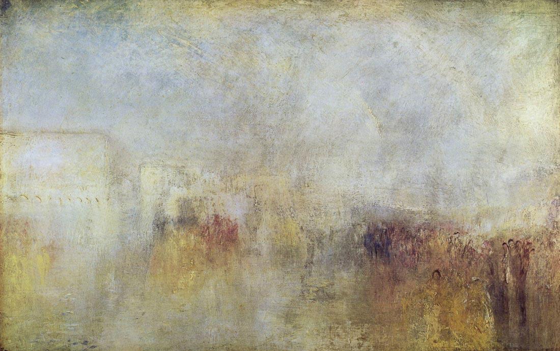 Water Fete in Venice - Joseph Mallord Turner
