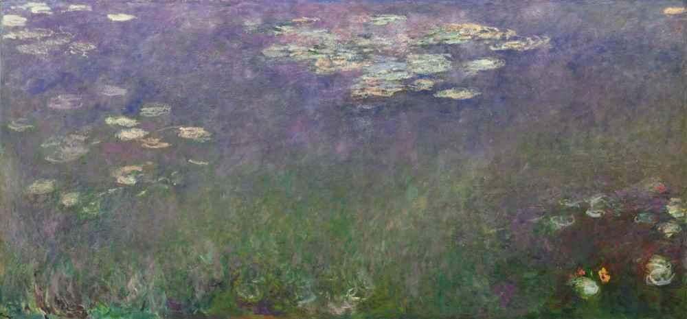 Water Lilies (Agapanthus) - Claude Monet