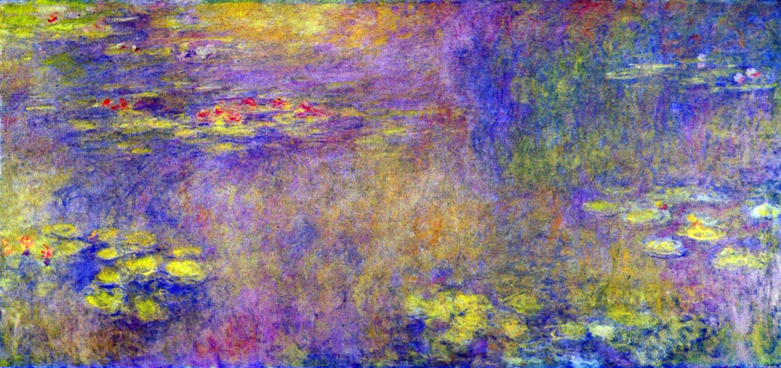Water Lilies - (Yellow nirvana) - Monet